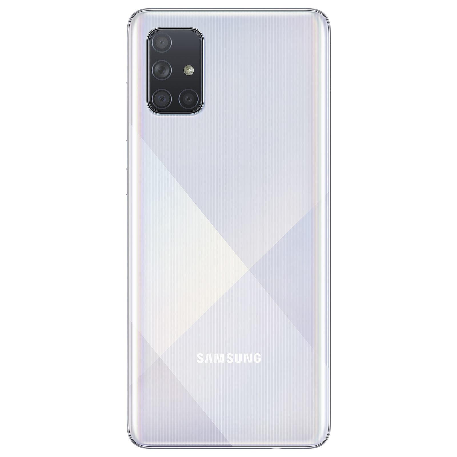 Samsung Galaxy A71 128Go Silver - Téléphonie Samsung - Cybertek.fr - 1