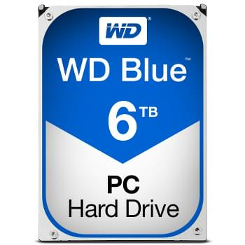 "WD WD60EZRZ 6To 5400 Tr/min - Disque dur interne 3.5"" - 0"