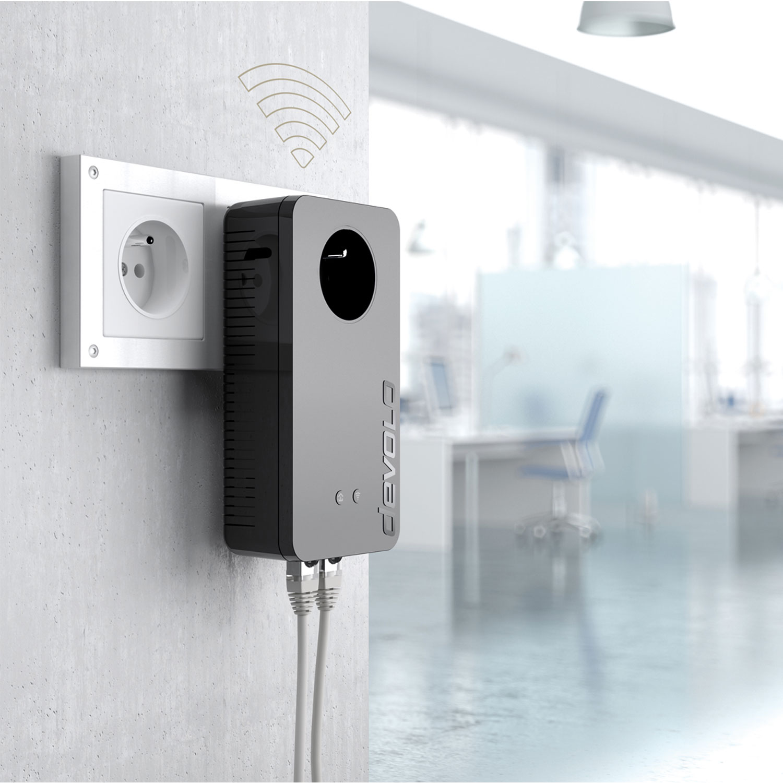 Devolo dLAN pro 1200+ WiFi ac (9551) - Achat / Vente Adaptateur CPL sur Cybertek.fr - 3