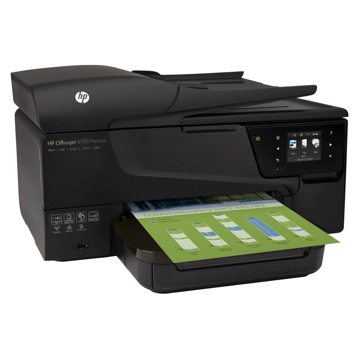 HP OfficeJet 6700 Premium e-All-in-One H711n (CN583A#BH8) - Achat / Vente Imprimante Multifonction sur Cybertek.fr - 0