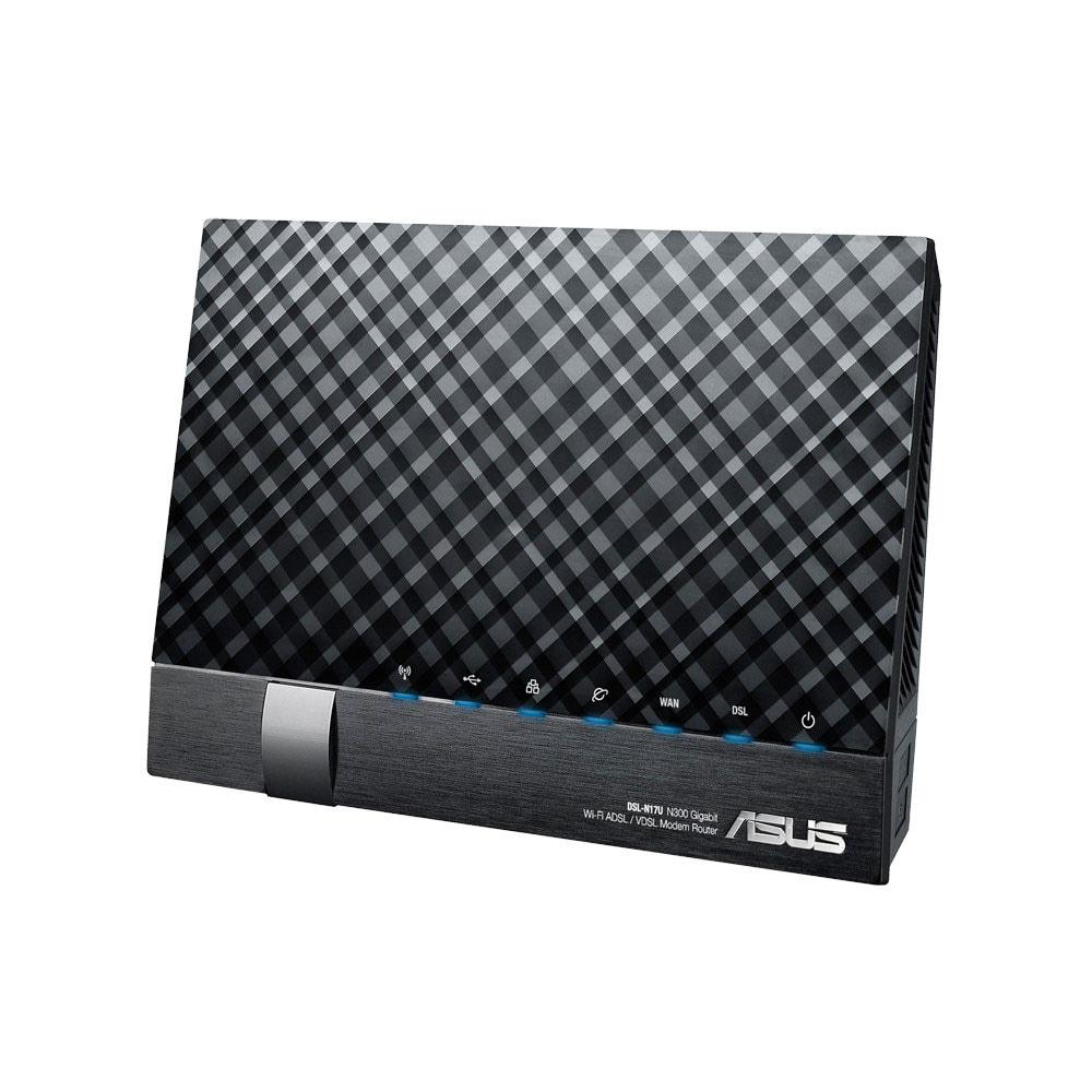 Asus DSL-N17U - Modem/Routeur WiFi N - Routeur Asus - Cybertek.fr - 0