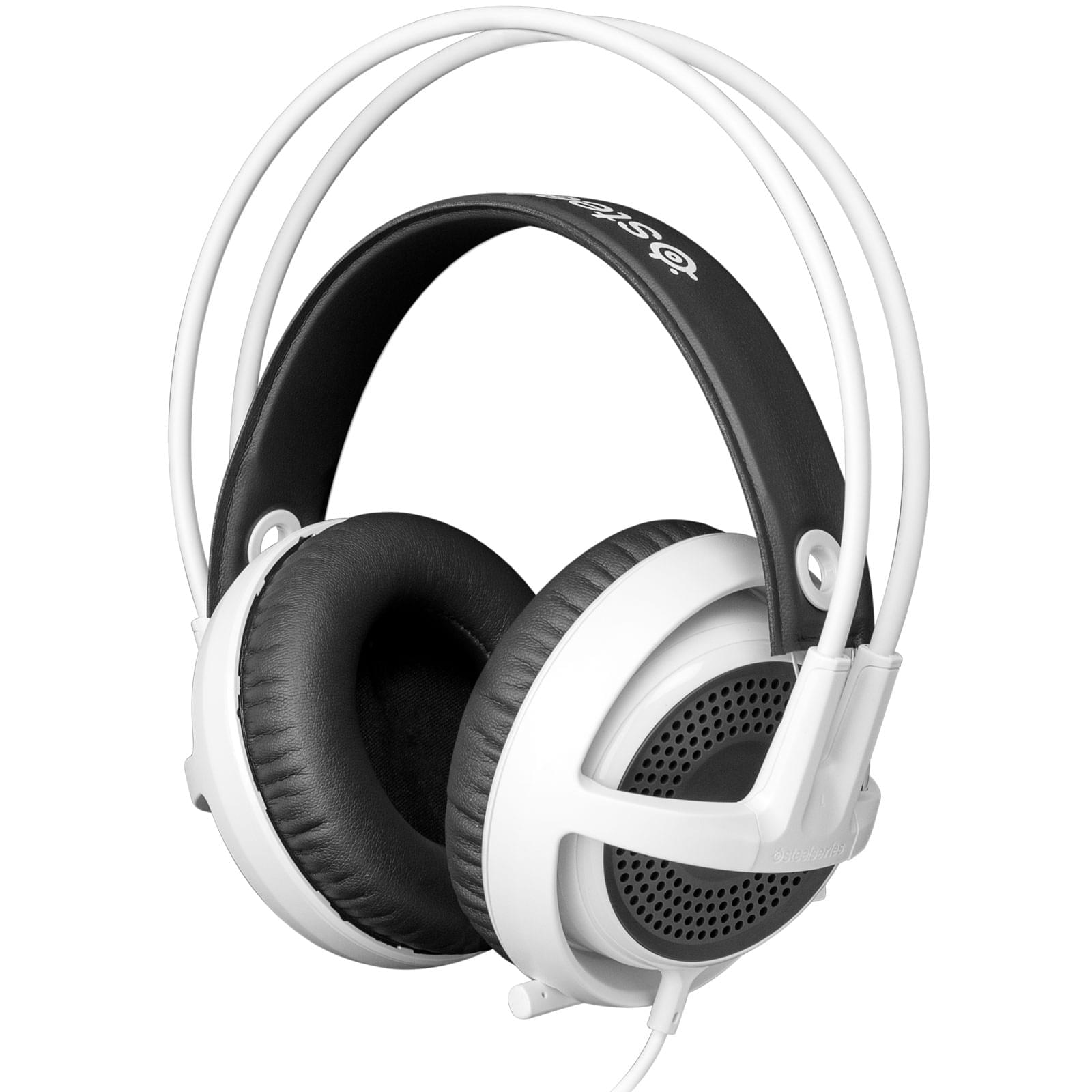 Steelseries Siberia V3 Blanc Stereo Blanc - Micro-casque - 0