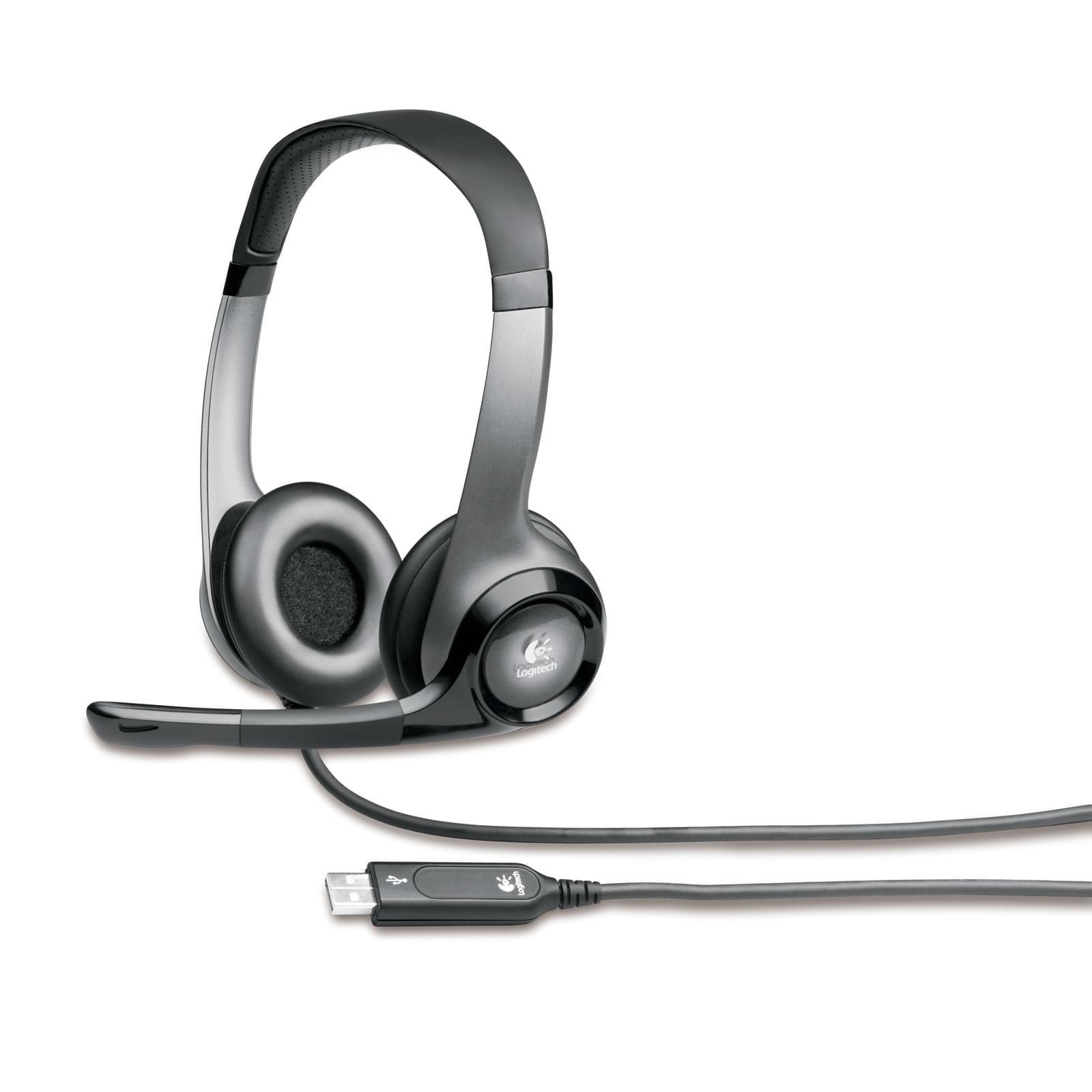 Logitech Headset H530 (981-000196) - Achat / Vente Micro-casque sur Cybertek.fr - 0