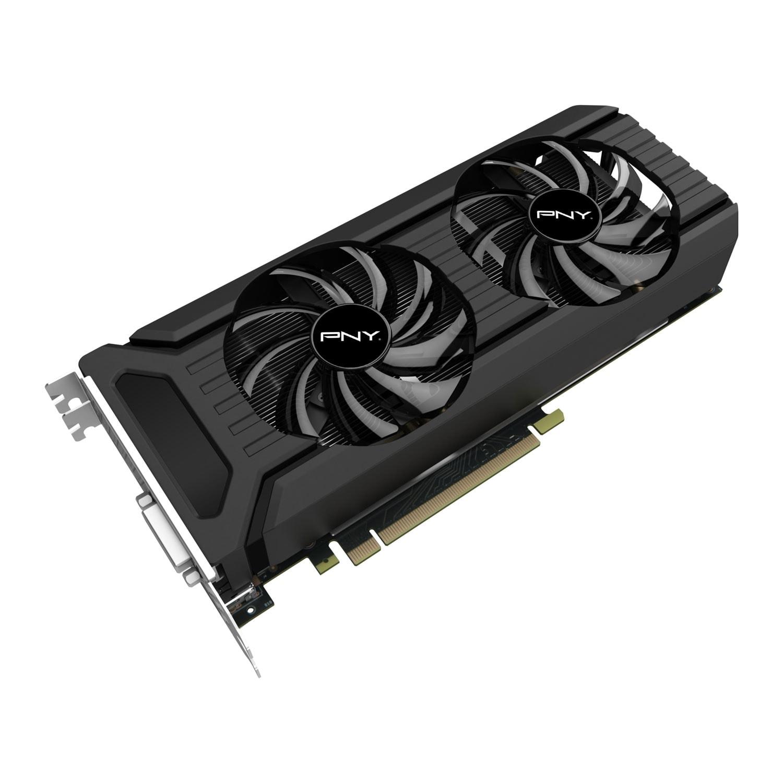 PNY GeForce GTX 1060 6GB GDDR5 (GF1060GTX6GEPB) - Achat / Vente Carte Graphique sur Cybertek.fr - 1