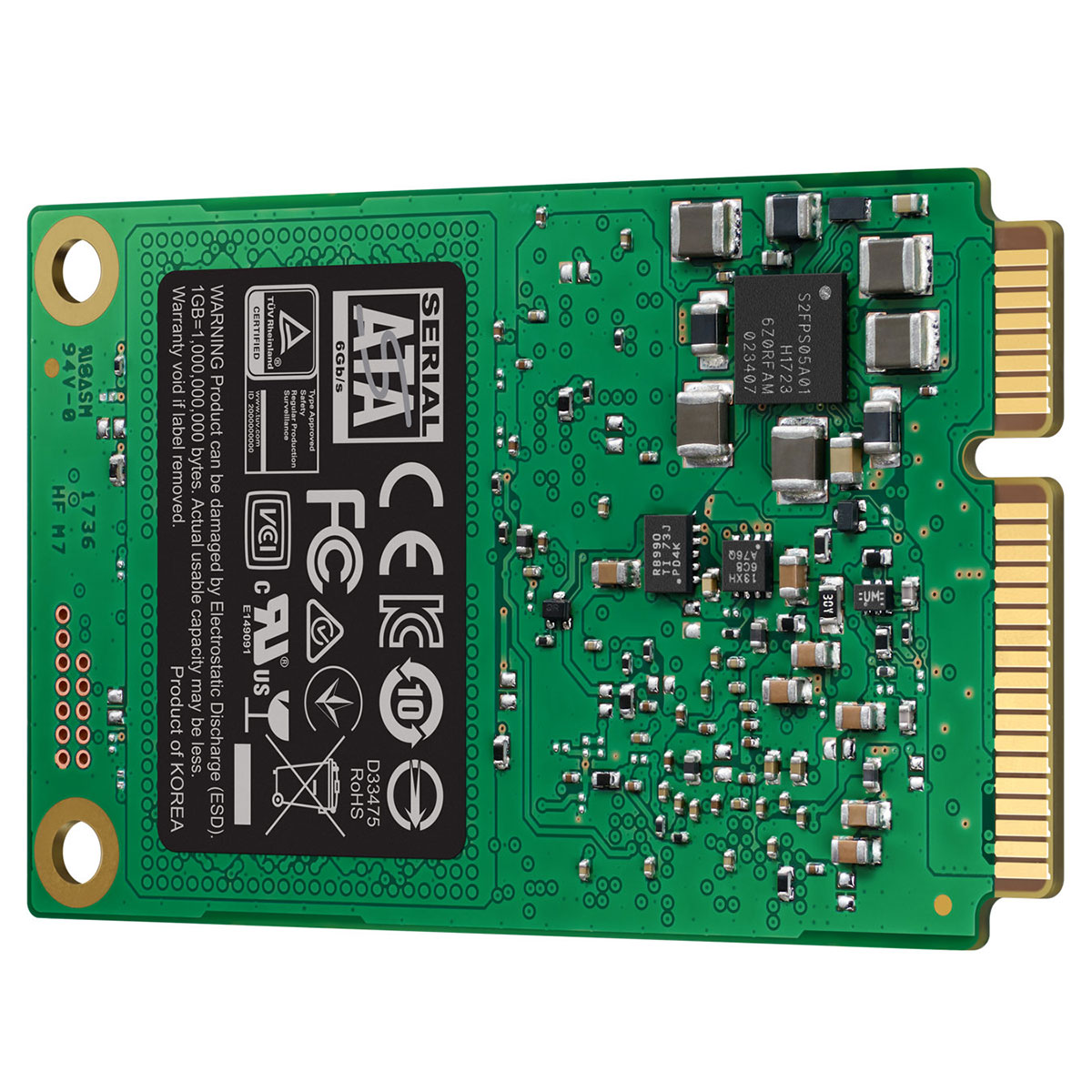 Samsung 860 EVO 240-275Go mSATA - Disque SSD Samsung - Cybertek.fr - 2