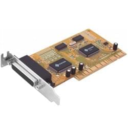No Name Carte Controleur PCI 2 ports series + 1 //  Low Profile Cybertek