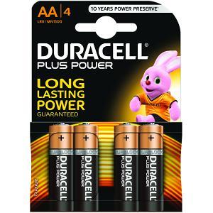 Duracell Lot de 4 Piles Alcaline 1,5V LR06 (MN1500B4) - Achat / Vente Pile sur Cybertek.fr - 0