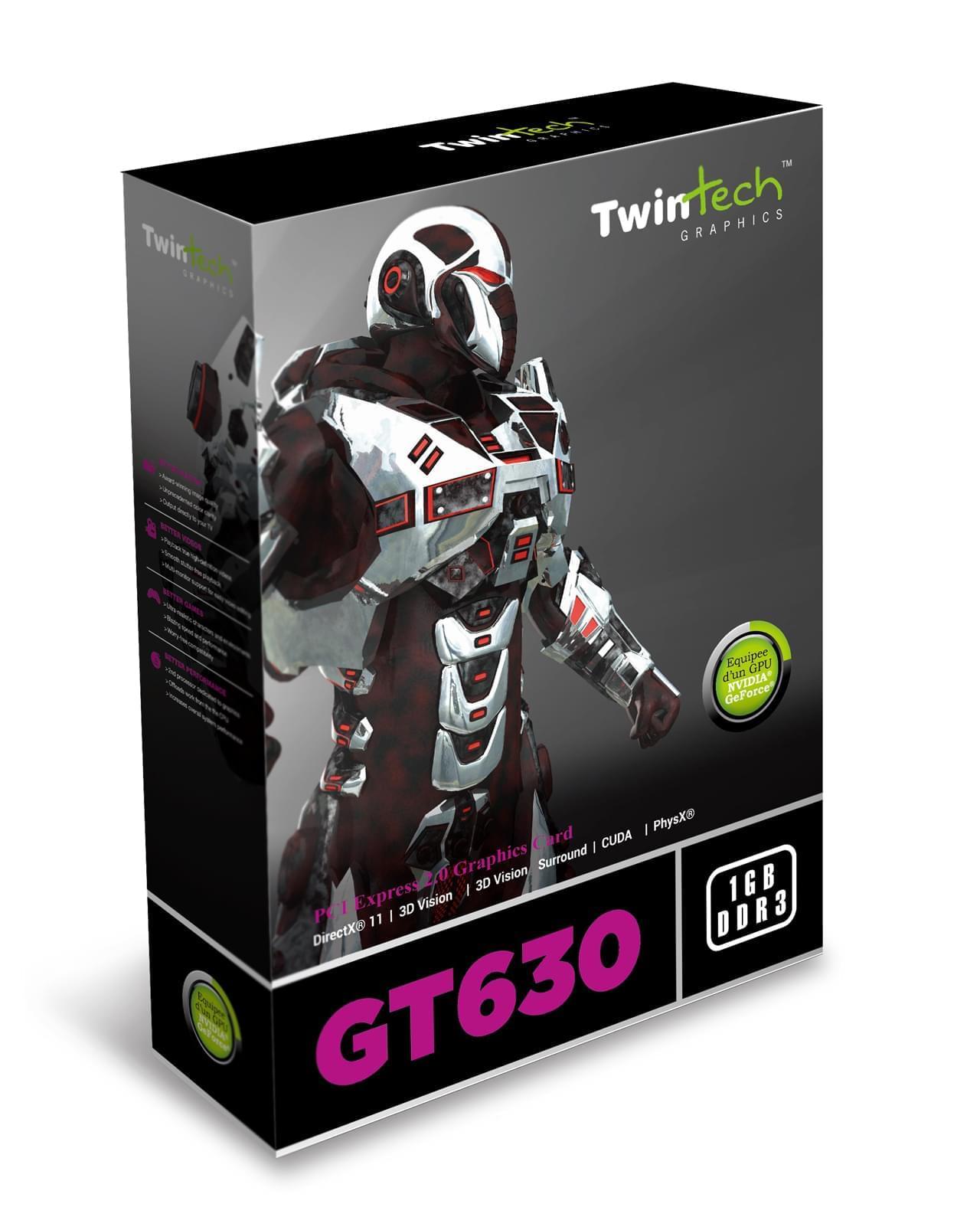 Twintech  - 2Go - carte Graphique PC - GPU nVidia - 0