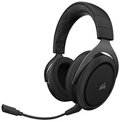 image produit Corsair HS70 Wireless Gaming Headset Carbon -CA-9011175-EU Cybertek