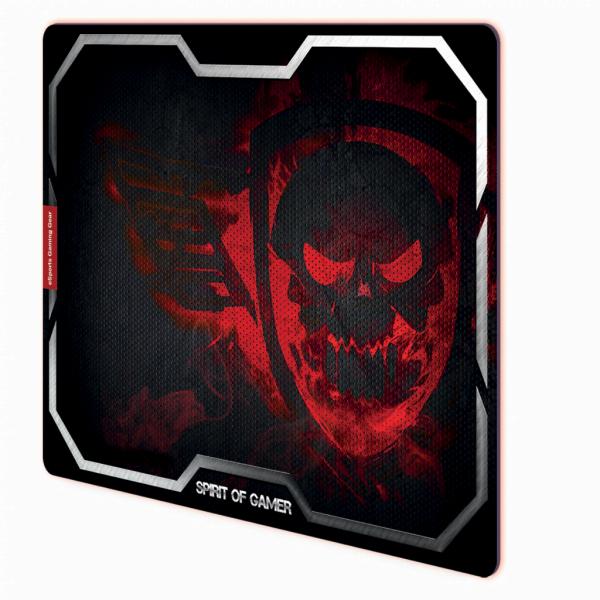 S.O.G Gaming Smokey Skull - XL/Rouge - Tapis de souris S.O.G - 0