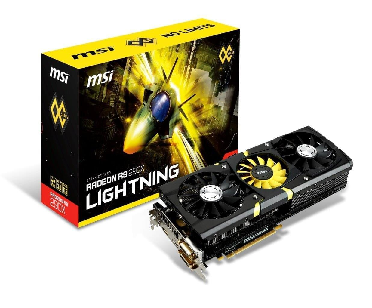MSI R9 290X Lightning 4Go - Carte graphique MSI - Cybertek.fr - 0