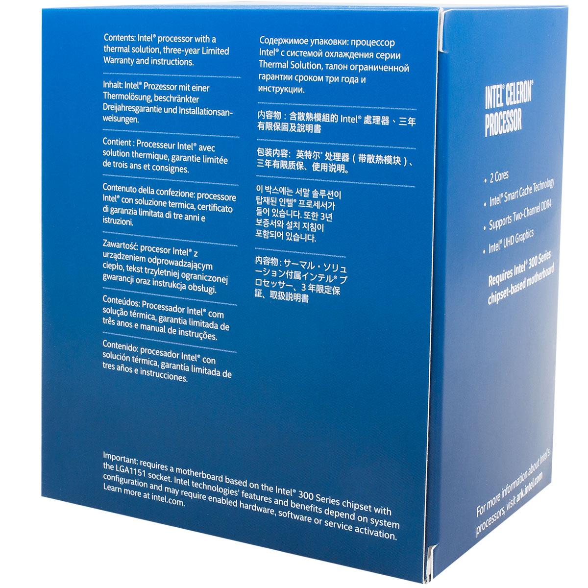 Intel Celeron G4900 - 3.1GHz - Processeur Intel - Cybertek.fr - 1