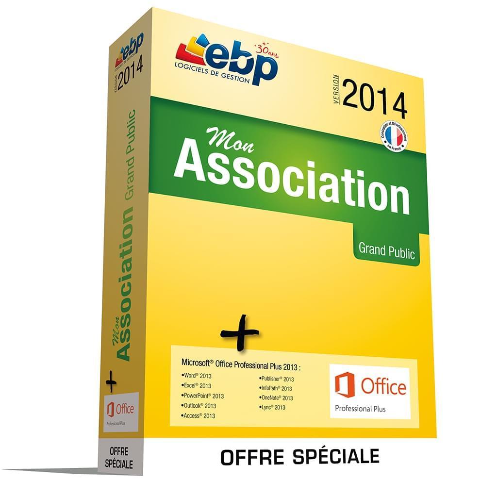 EBP Mon Association 2014 (1049J180FAD) - Achat / Vente Logiciel Application sur Cybertek.fr - 0