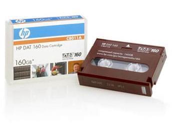 HP Cartouche DAT 80/160Go Rouge - C8011A - 0
