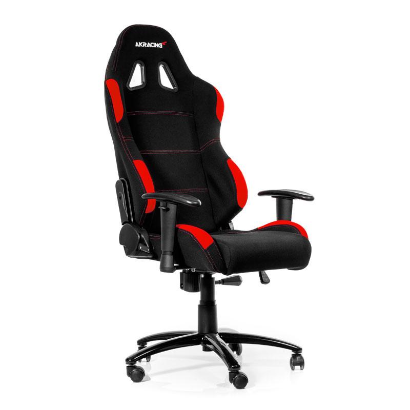 AKRacing Gaming Chair K7012 Noir/Rouge - Siège PC Gamer - 0