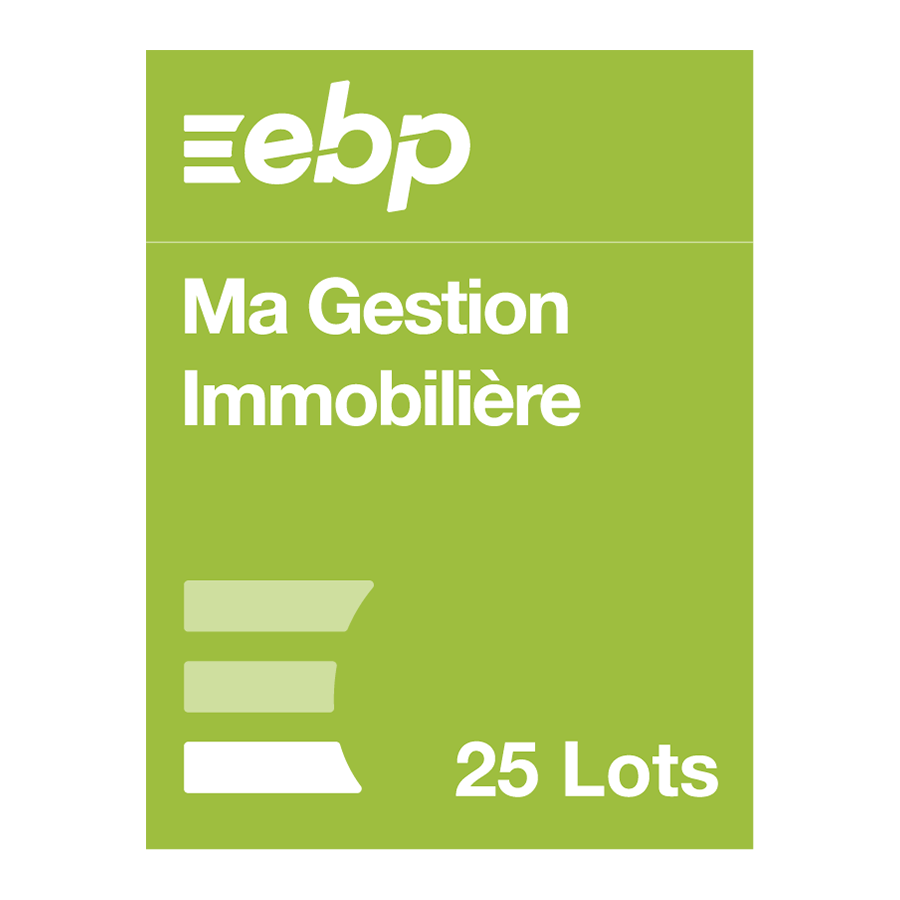 EBP Ma Gestion Immobilière version 25 lots - Logiciel application - 0