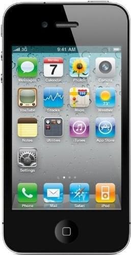 Apple iPhone 4 8Go Black - Téléphonie Apple - Cybertek.fr - 0