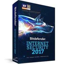 Bitdefender Logiciel sécurité Internet Security 2017 OEM - 1 An / 1 PC Cybertek
