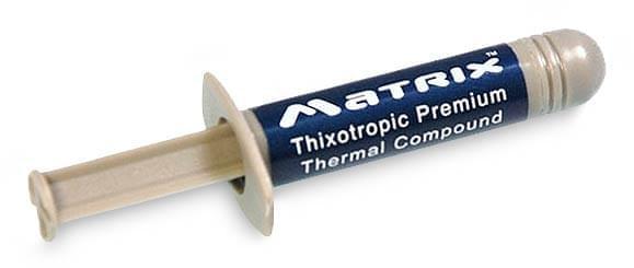 ArticSilver Pâte thermique Artic Matrix (Seringue 2.5Gr) - Achat / Vente Accessoire Refroidissement PC sur Cybertek.fr - 0