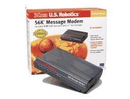 USRobotics Message Modem 56Kb V90 (USR815668D) - Achat / Vente Modem sur Cybertek.fr - 0