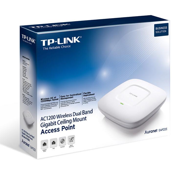 TP-Link EAP225 - Point d'accès WiFi AC1200 PoE Plafonnier - 1