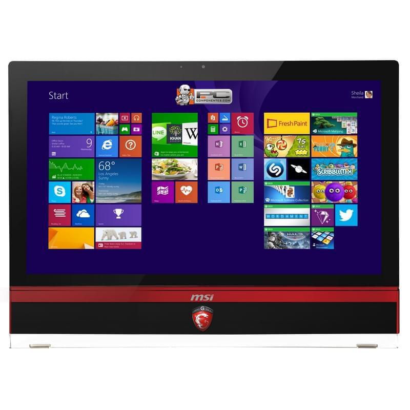 "MSI AG270 2QE-041 -i7-4860/16G/256+2T/GTX980/TV/27""T/8 (9S6-AF1811-041) - Achat / Vente All-In-One PC sur Cybertek.fr - 0"