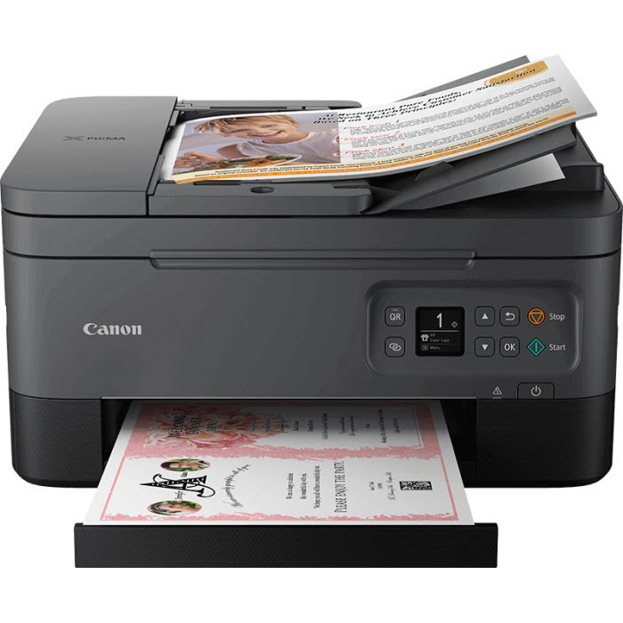 Imprimante multifonction Canon PIXMA TS7450 Black - Cybertek.fr - 0