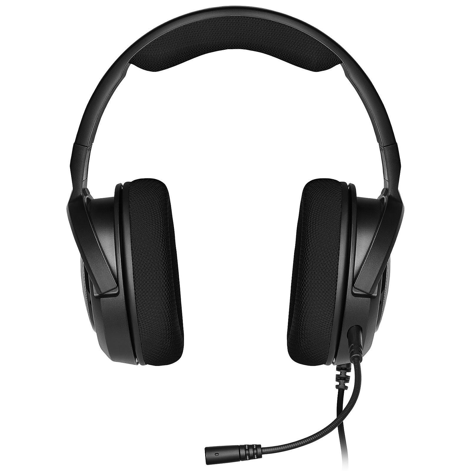 Corsair HS35 Carbon Stereo Noir - Micro-casque - Cybertek.fr - 4