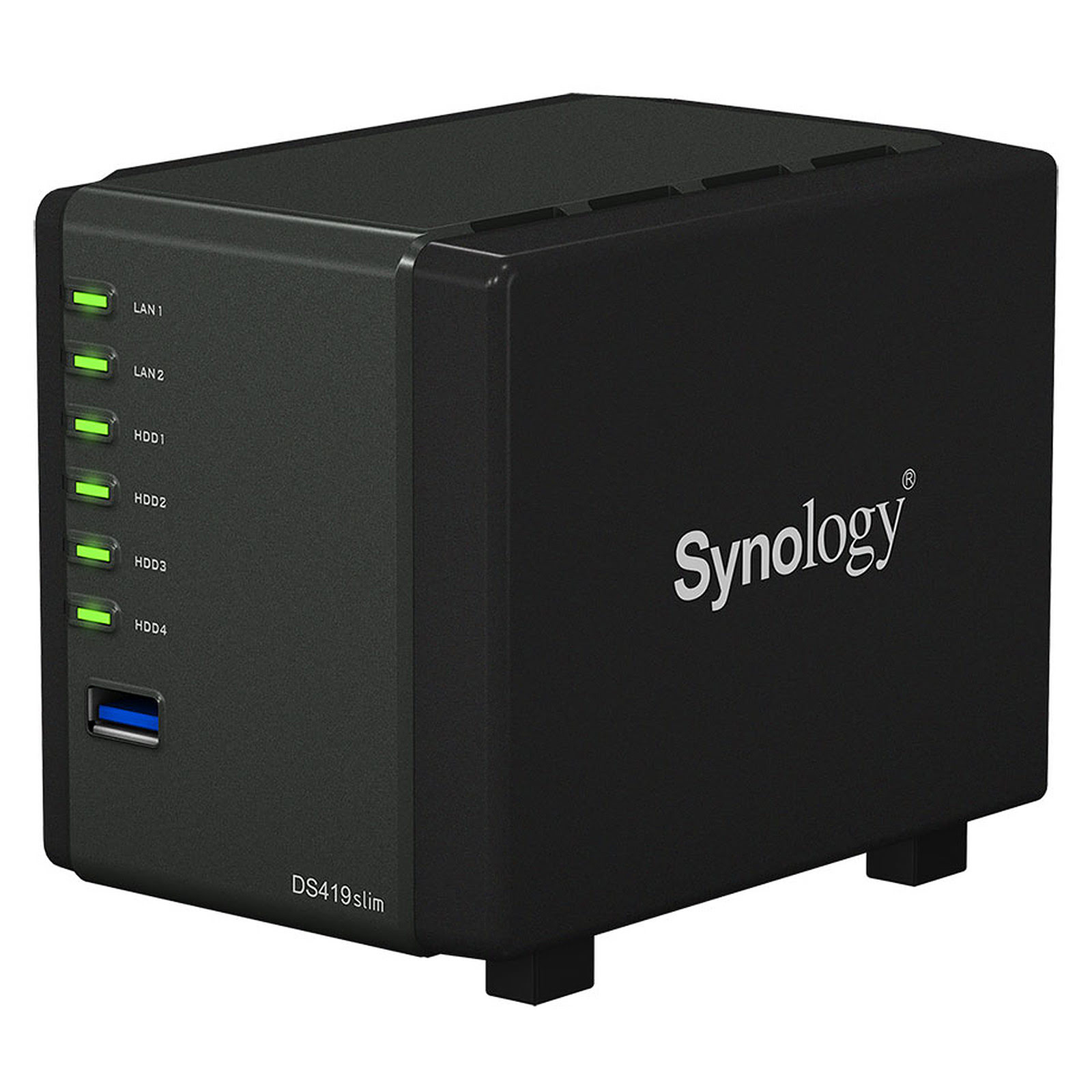 "Synology DS419Slim - 4 HDD 2.5"" - Serveur NAS Synology - 0"