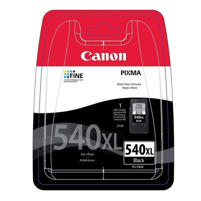 Canon Cartouche PG 540 XL Noir (5222B004) - Achat / Vente Consommable Imprimante sur Cybertek.fr - 0