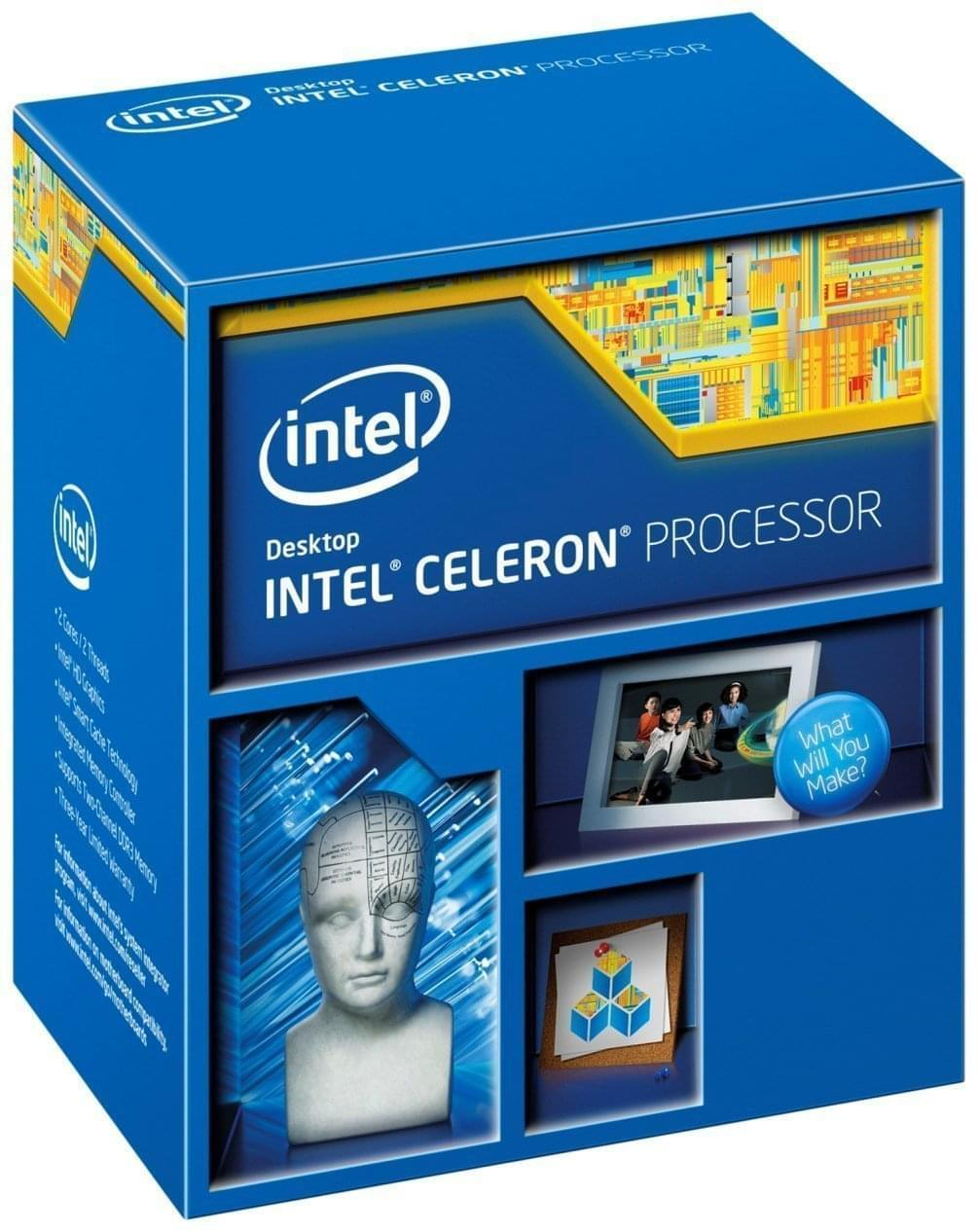 Intel Celeron G1840 (BX80646G1840) - Achat / Vente Processeur sur Cybertek.fr - 0