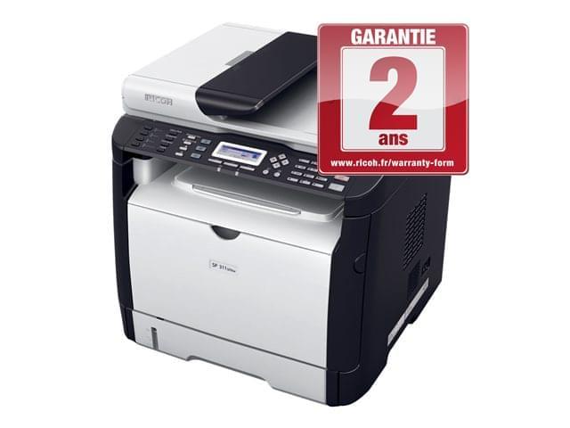 Ricoh SP 311 SFN (Laser/Fax/Reseau/Recto-Verso) (992680) - Achat / Vente Imprimante multifonction sur Cybertek.fr - 0