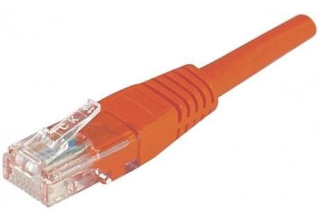No Name Cordon RJ45 Cat.5e 10m U/UTP Rouge (853947) - Achat / Vente Connectique réseau sur Cybertek.fr - 0