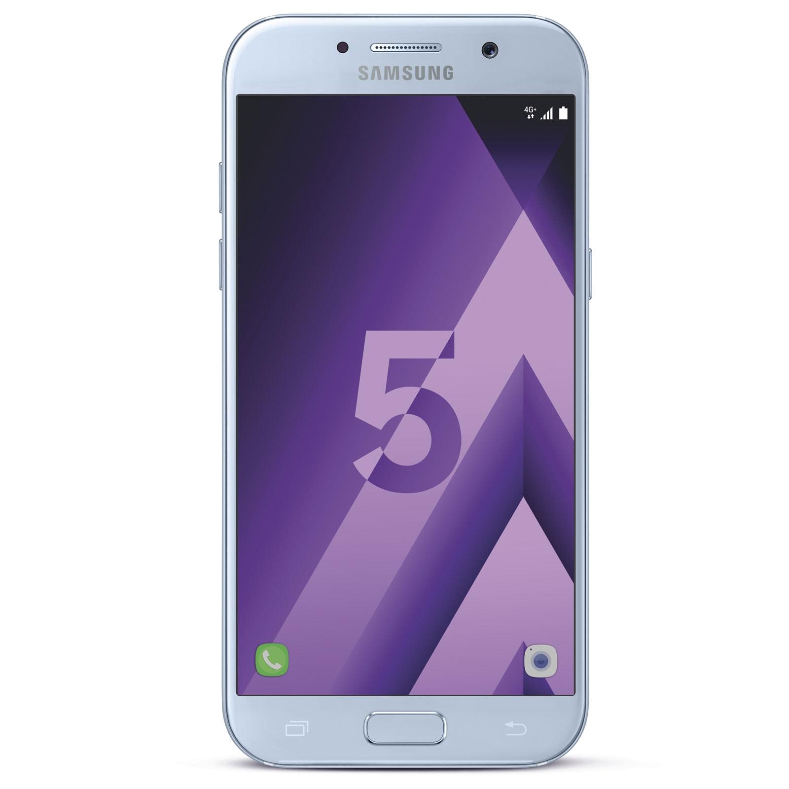 Samsung Galaxy A5 (2017) Bleu - Téléphonie Samsung - Cybertek.fr - 0
