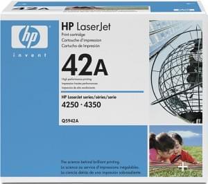 HP Toner Noir 10 000 Pages Q5942A (Q5942A) - Achat / Vente Consommable Imprimante sur Cybertek.fr - 0
