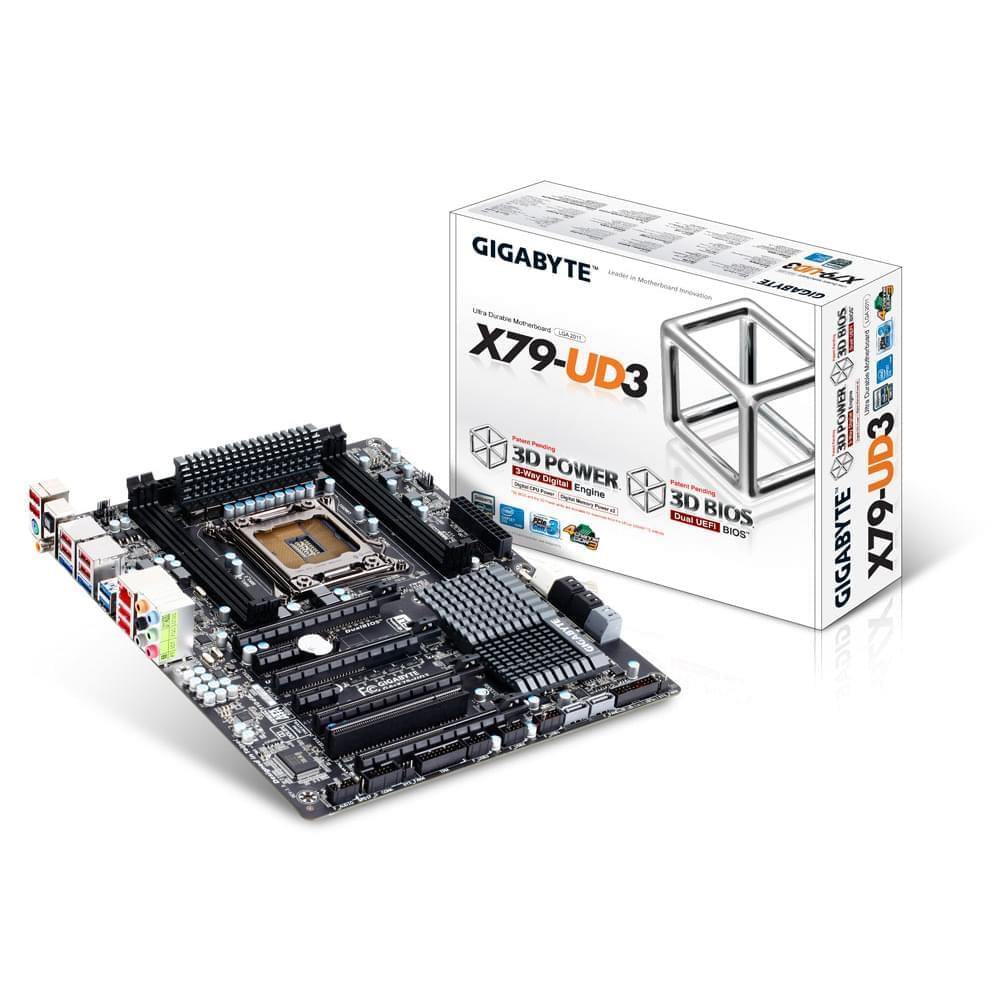 Gigabyte X79-UD3 (X79-UD3) - Achat / Vente Carte mère sur Cybertek.fr - 0