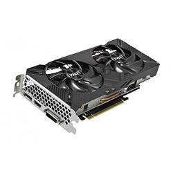 image produit Palit RTX2060 DUAL OC 6GB D6 - RTX2060/6Go/DVI/HDMI/DP Cybertek