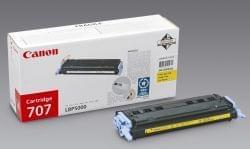 Toner EP-707 Jaune - 9421A004 pour imprimante Laser Canon - 0