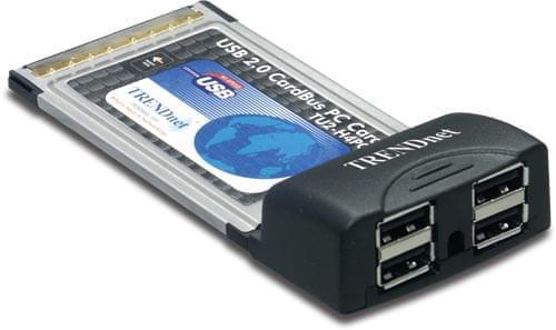 No Name PCMCIA 4 ports USB2 (TU2-H4PC //  893213 soldé) - Achat / Vente Carte Controleur sur Cybertek.fr - 0