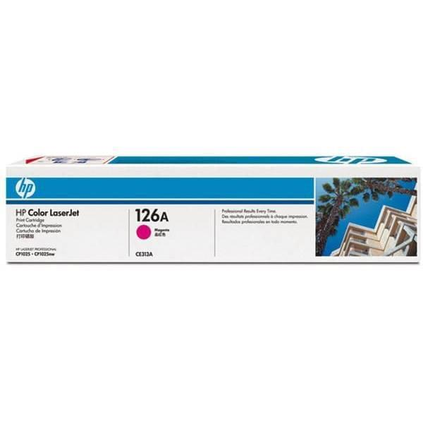 Consommable imprimante HP Toner 126A Magenta CE313A