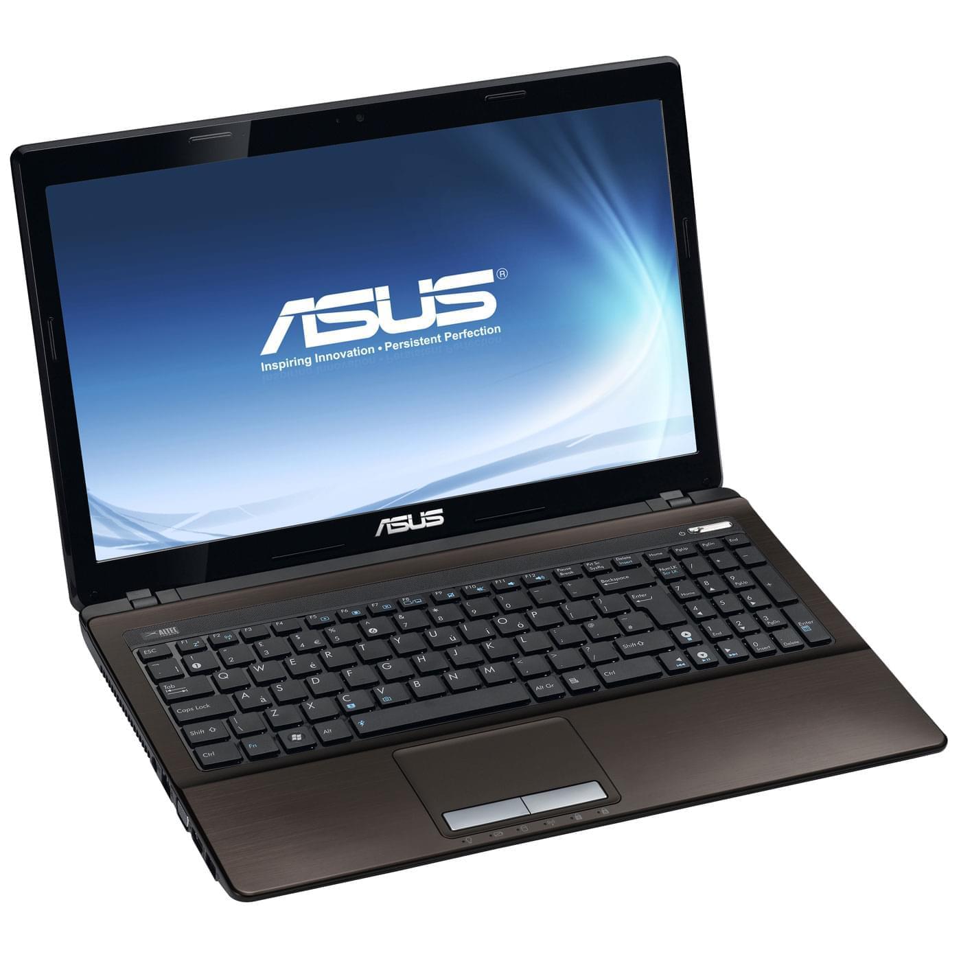 Asus K53E-SX1254V (K53E-SX1254V) - Achat / Vente PC Portable sur Cybertek.fr - 0