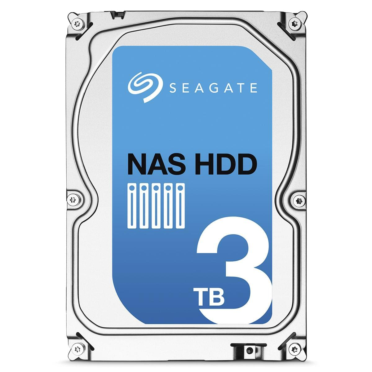 """Seagate NAS HDD 3To (ST3000VN000) - Achat / Vente Disque Dur interne 3.5"""" sur Cybertek.fr - 0"""