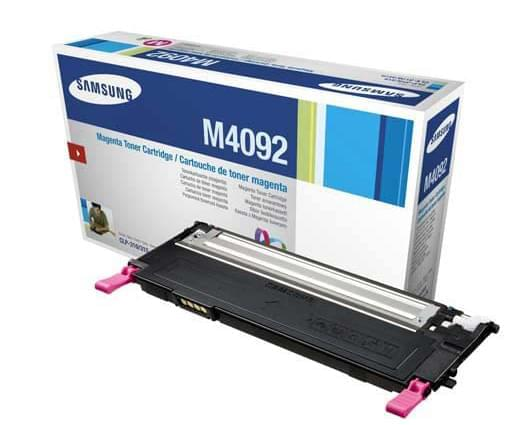 Toner CLT-M4092S Magenta pour imprimante Laser Samsung - 0