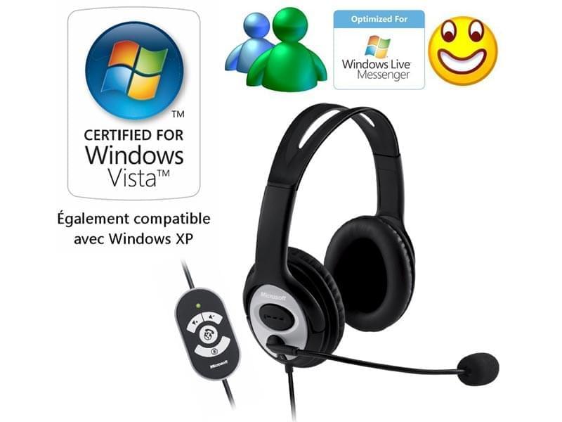 Microsoft LifeChat LX-3000 (JUG-00002) - Achat / Vente Micro-casque sur Cybertek.fr - 0