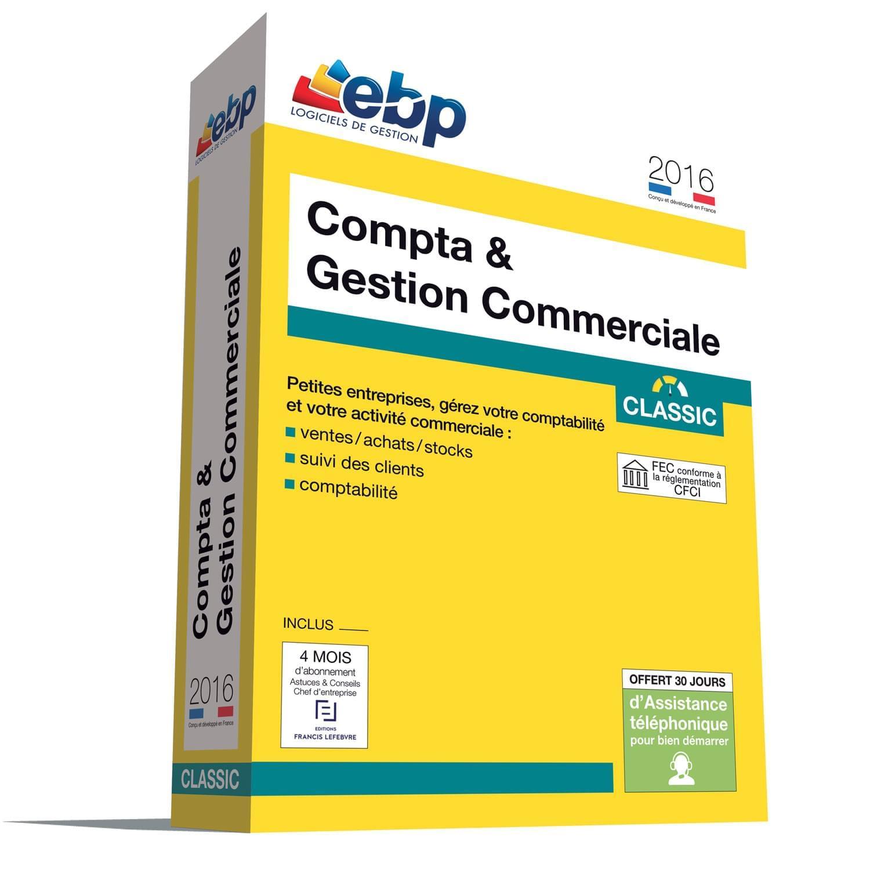 EBP Compta & Gestion Commerciale Classic 2016 - Logiciel application - 0