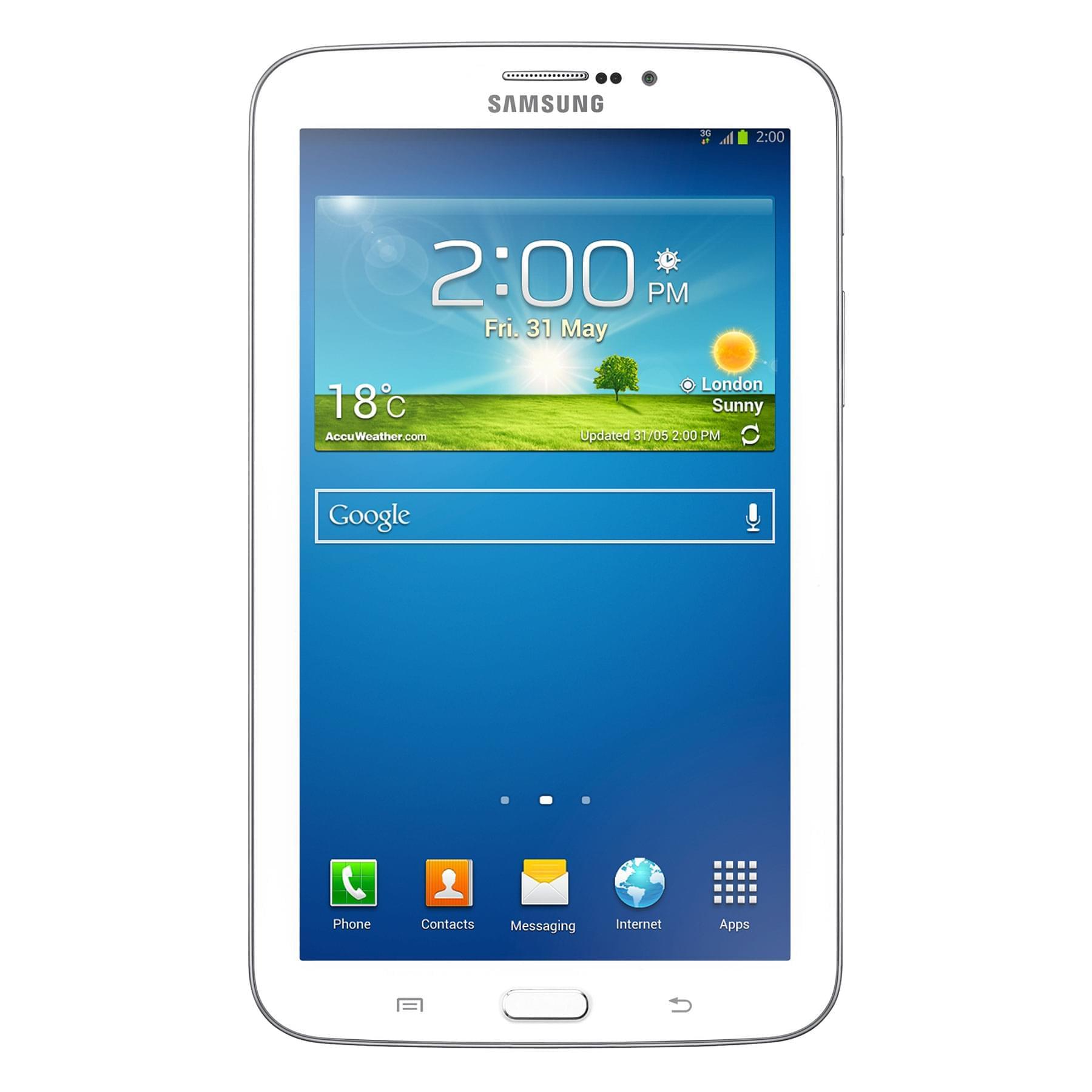 """Samsung Galaxy Tab 3 7"""" T2110ZWE (SM-T2110ZWEXEF) - Achat / Vente Destockage sur Cybertek.fr - 0"""