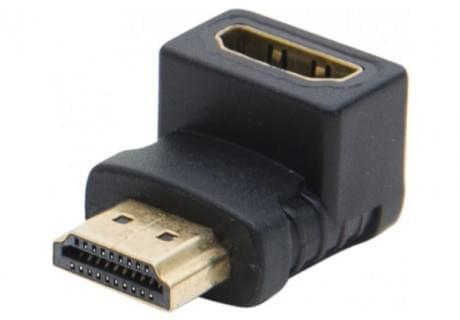 Adaptateur HDMI Male/Femelle coudé 90° - 0