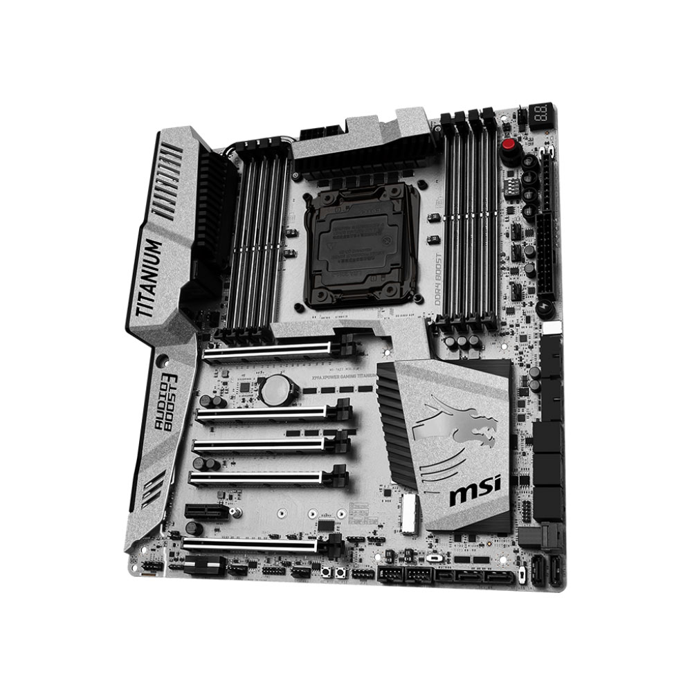 MSI X99A Xpower Gaming Titanium ATX DDR4 - Carte mère MSI - 2