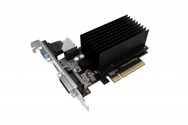 Gainward GT 710 2GB Silent FX 2Go - Carte graphique Gainward - 2