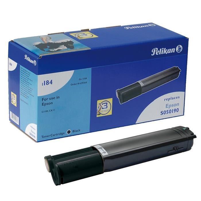 Toner C1100 S050190 Noir pour imprimante Laser Epson - 0